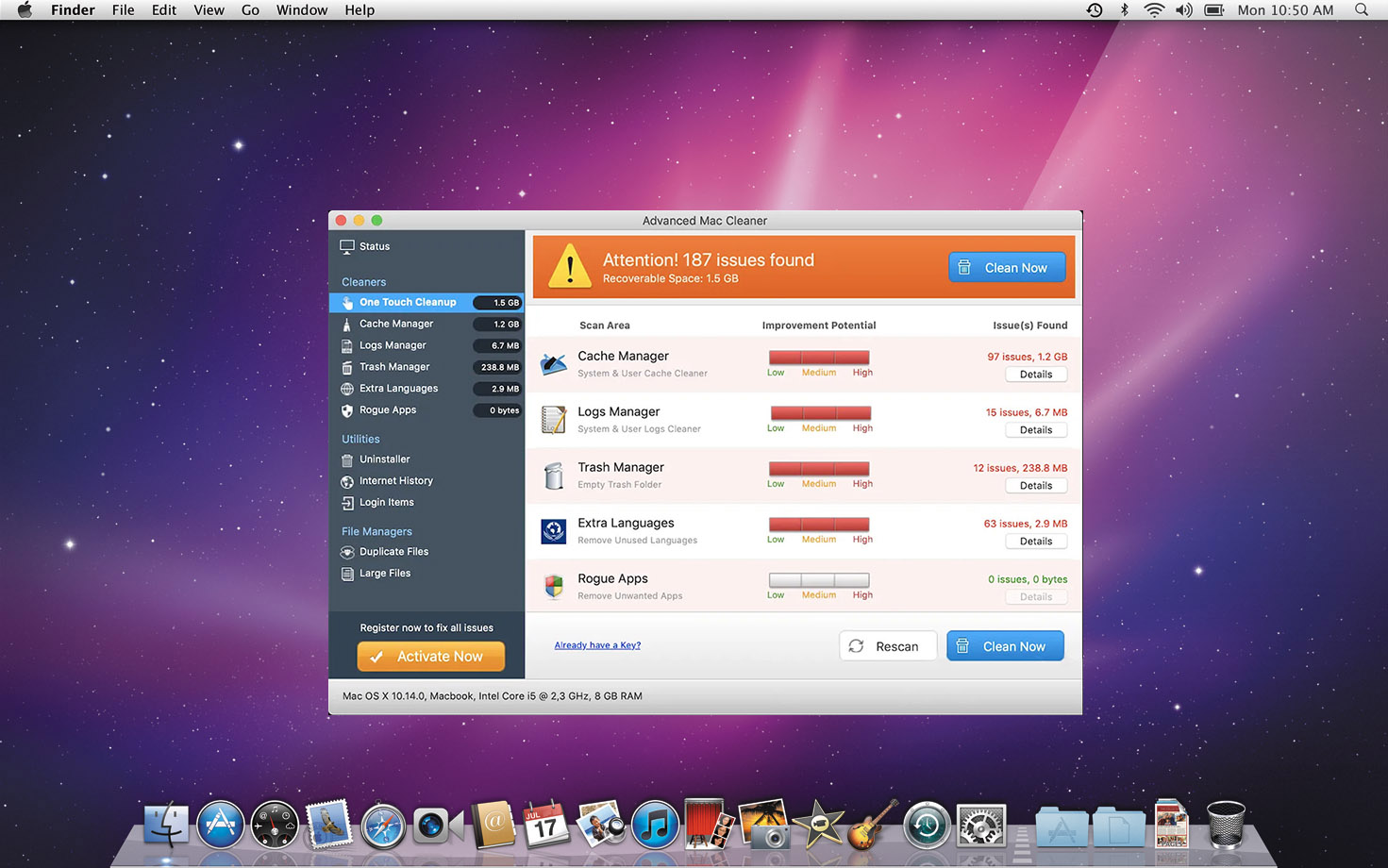 Remove Mac Cleaner as it successfully graduates from junkware labs